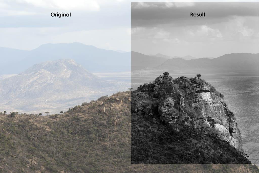 Berge und Täler in Kenia