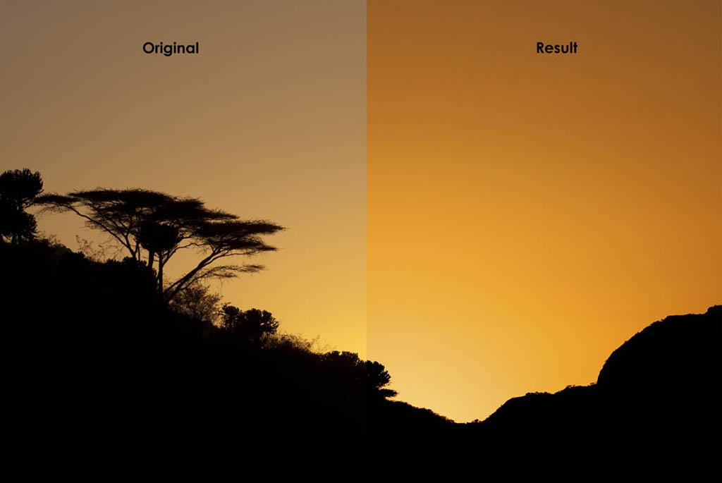 Sonnenaufgang in Kenia